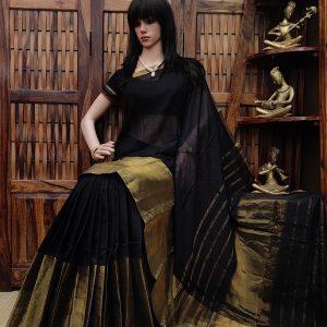 Deepashikha - Pearl Cotton Saree