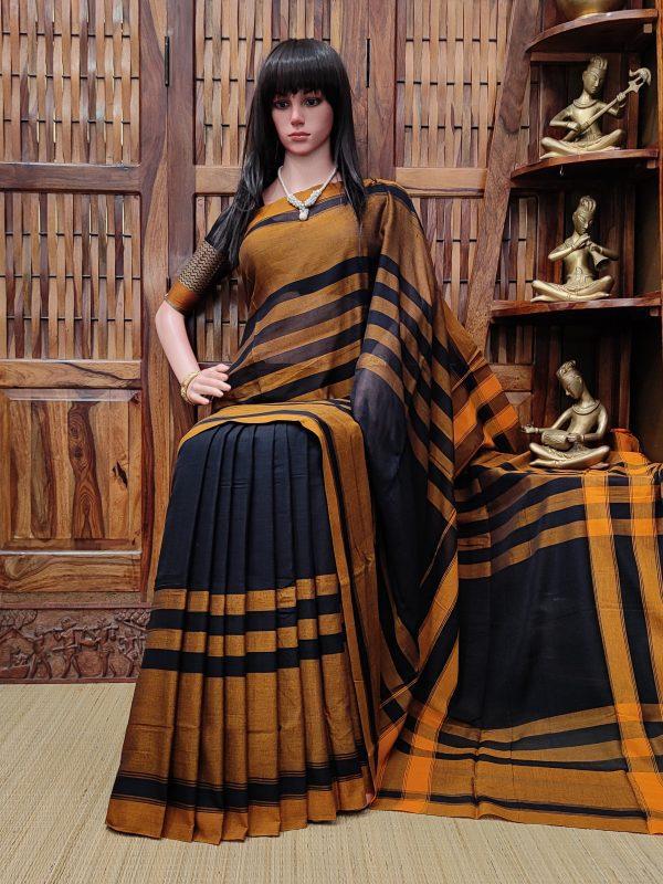 Devamanohari - Pearl Cotton Saree