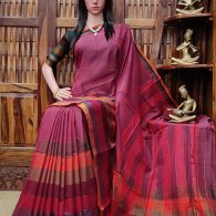 Devananda - Pearl Cotton Saree