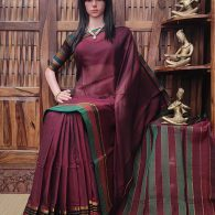 Devani - Pearl Cotton Saree