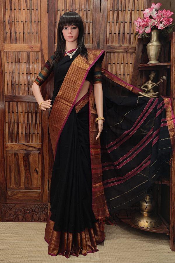 Devanshi - Pearl Cotton Saree