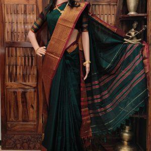 Devashree - Pearl Cotton Saree