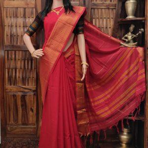 Devatha - Pearl Cotton Saree