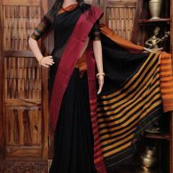 Devavarnini - Pearl Cotton Saree