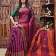 Devayani - Pearl Cotton Saree
