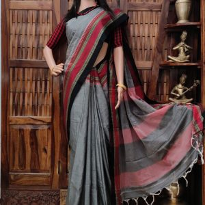 Deviki - Pearl Cotton Saree