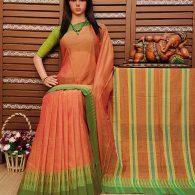 Dharani - Pearl Cotton Saree