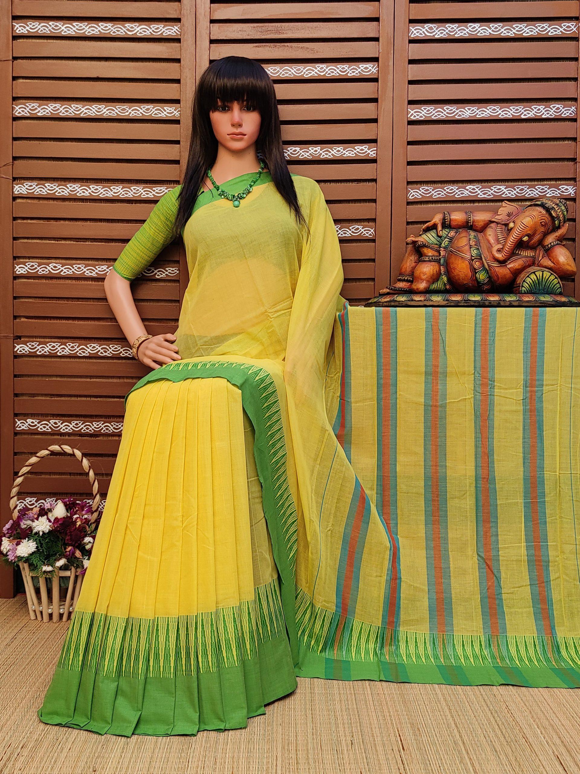 Dharitri - Pearl Cotton Saree