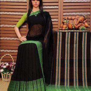 Dharmavati - Pearl Cotton Saree