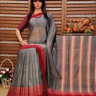 Dhatri - Pearl Cotton Saree