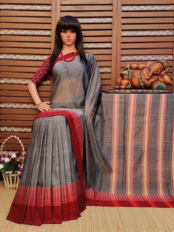 Dhatri - Pearl Cotton Saree