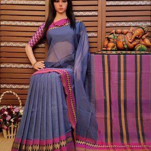 Dhatuvardani - Pearl Cotton Saree