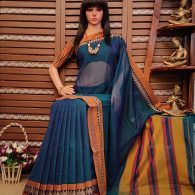 Dheeti - Pearl Cotton Saree
