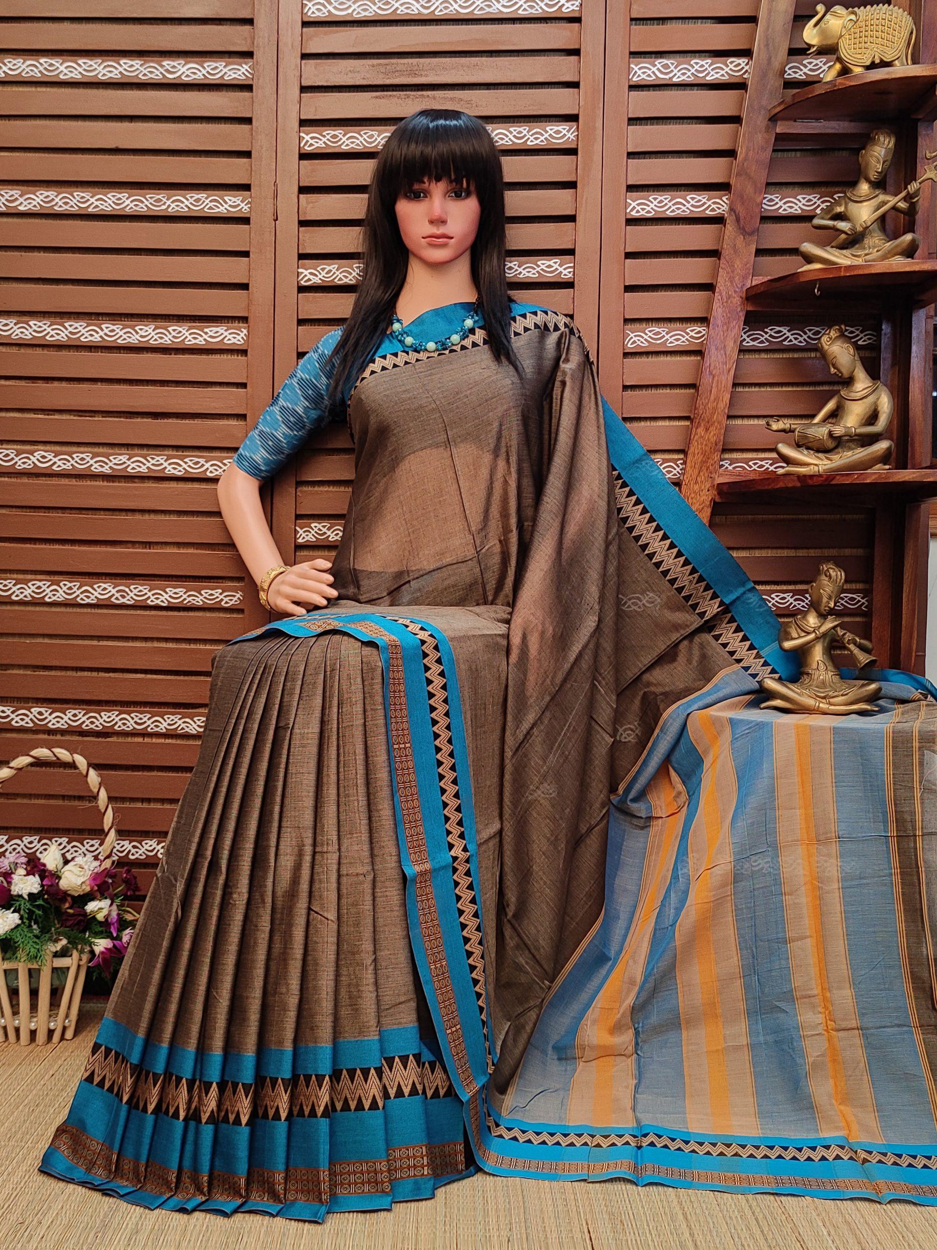 Dhenuka - Pearl Cotton Saree