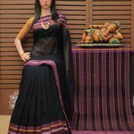 Dhvani - Pearl Cotton Saree
