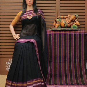 Dhvani - Pearl Cotton Saree