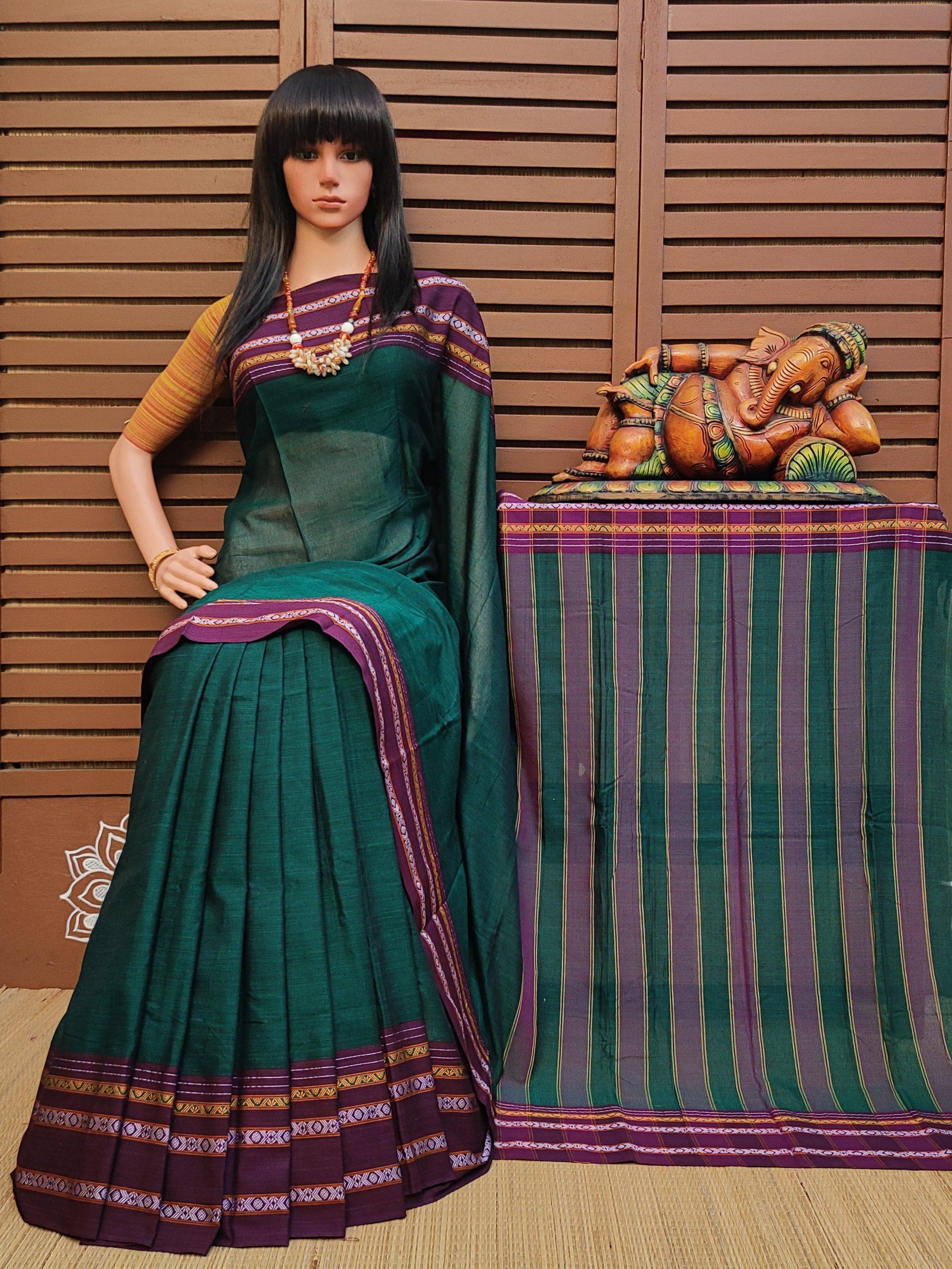 Dhwani - Pearl Cotton Saree