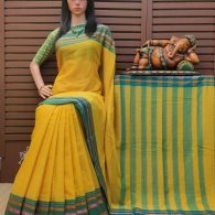 Divitha - Pearl Cotton Saree