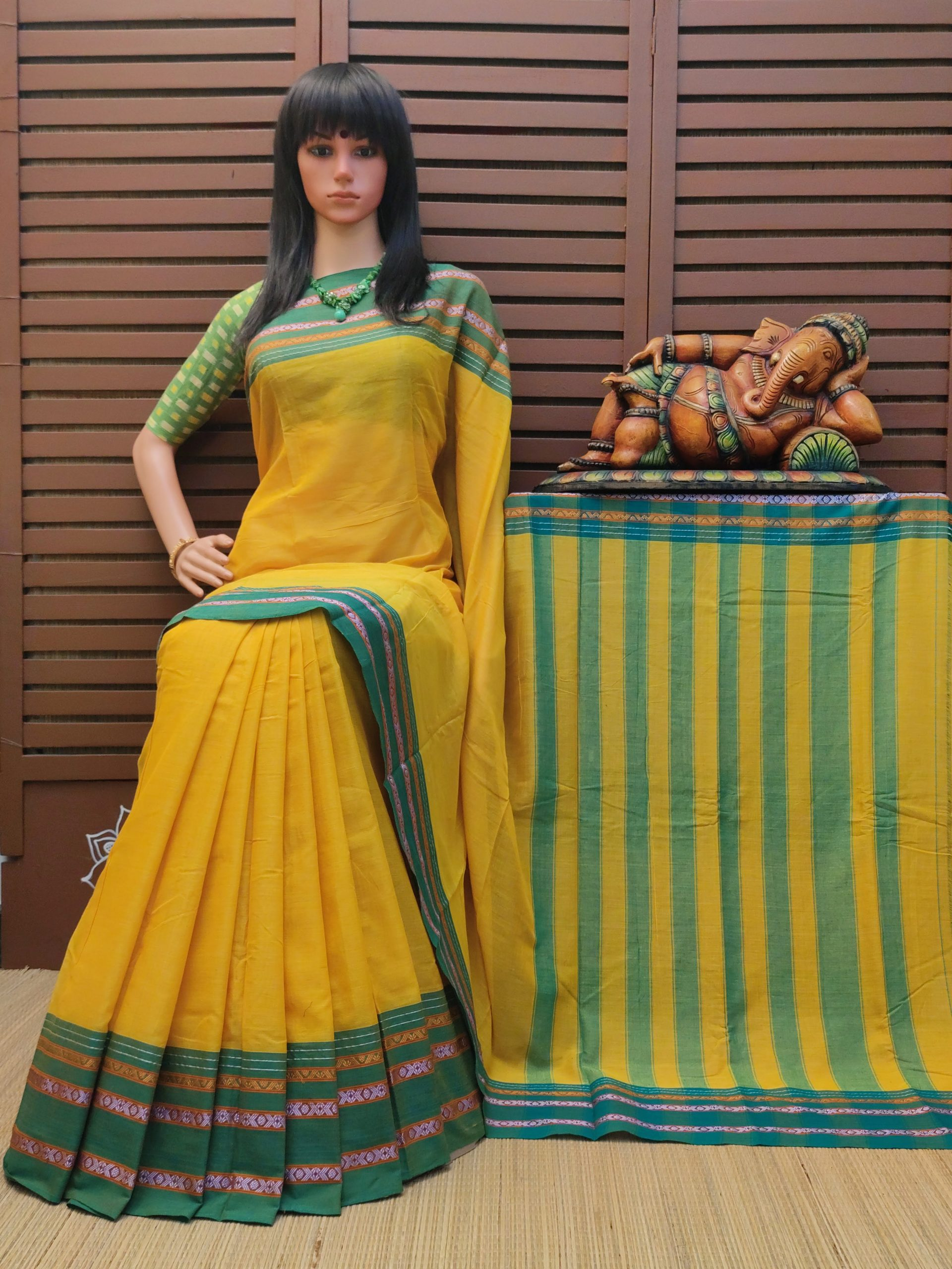 Divitha - Pearl Cotton Saree