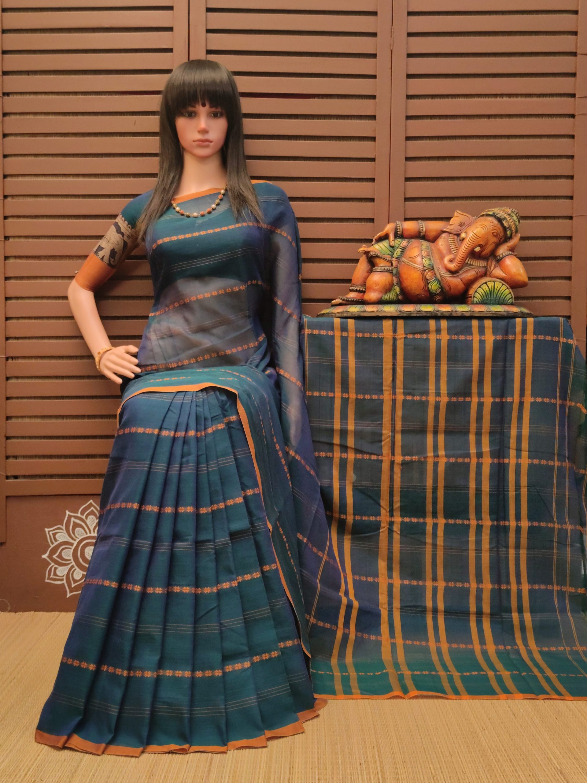 Dulari - Pearl Cotton Saree
