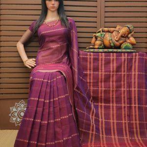 Dundubi - Pearl Cotton Saree