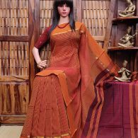 ESHWARII – PEARL COTTON SAREE