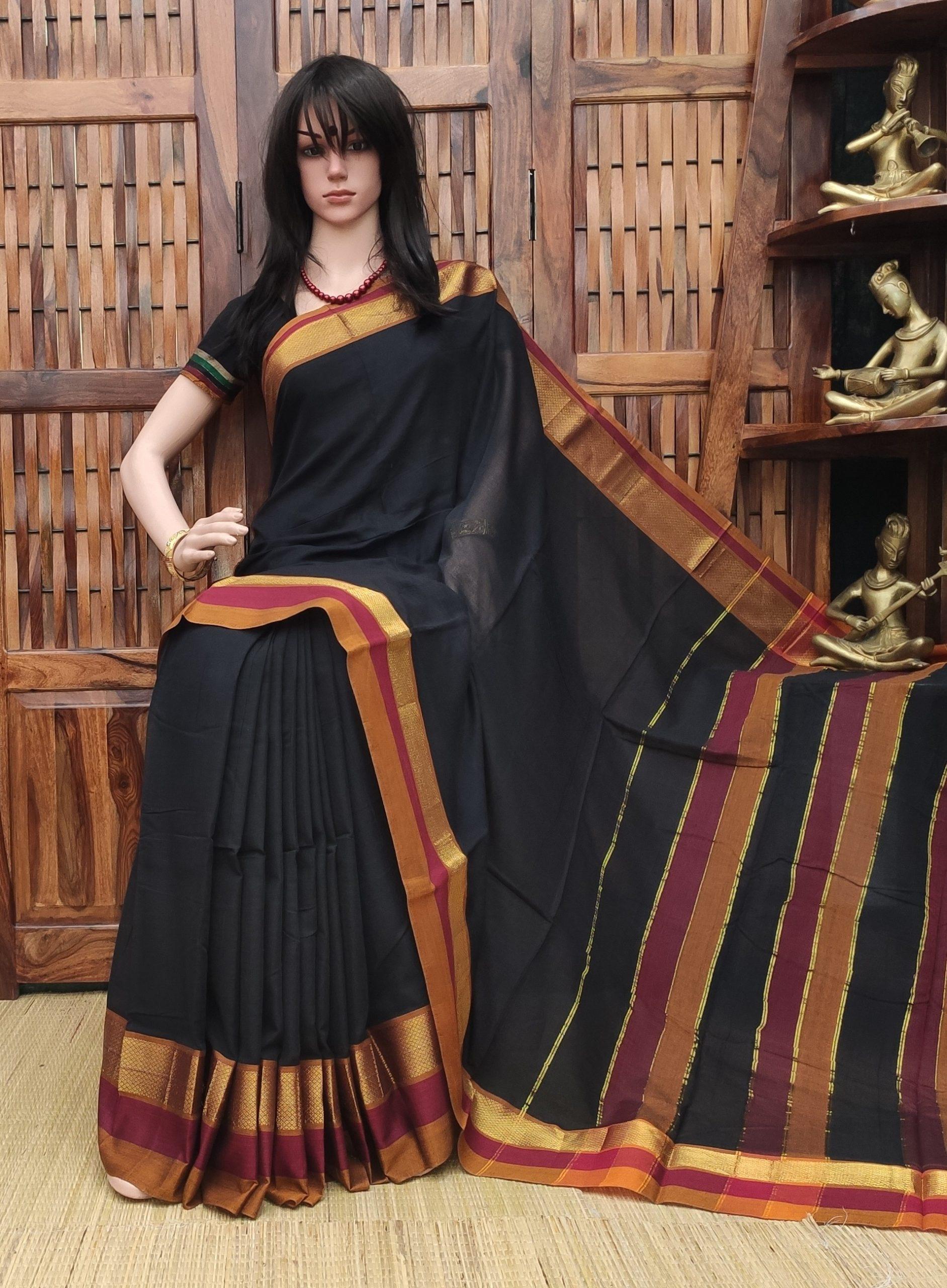 Kaveri - Pearl Cotton Saree
