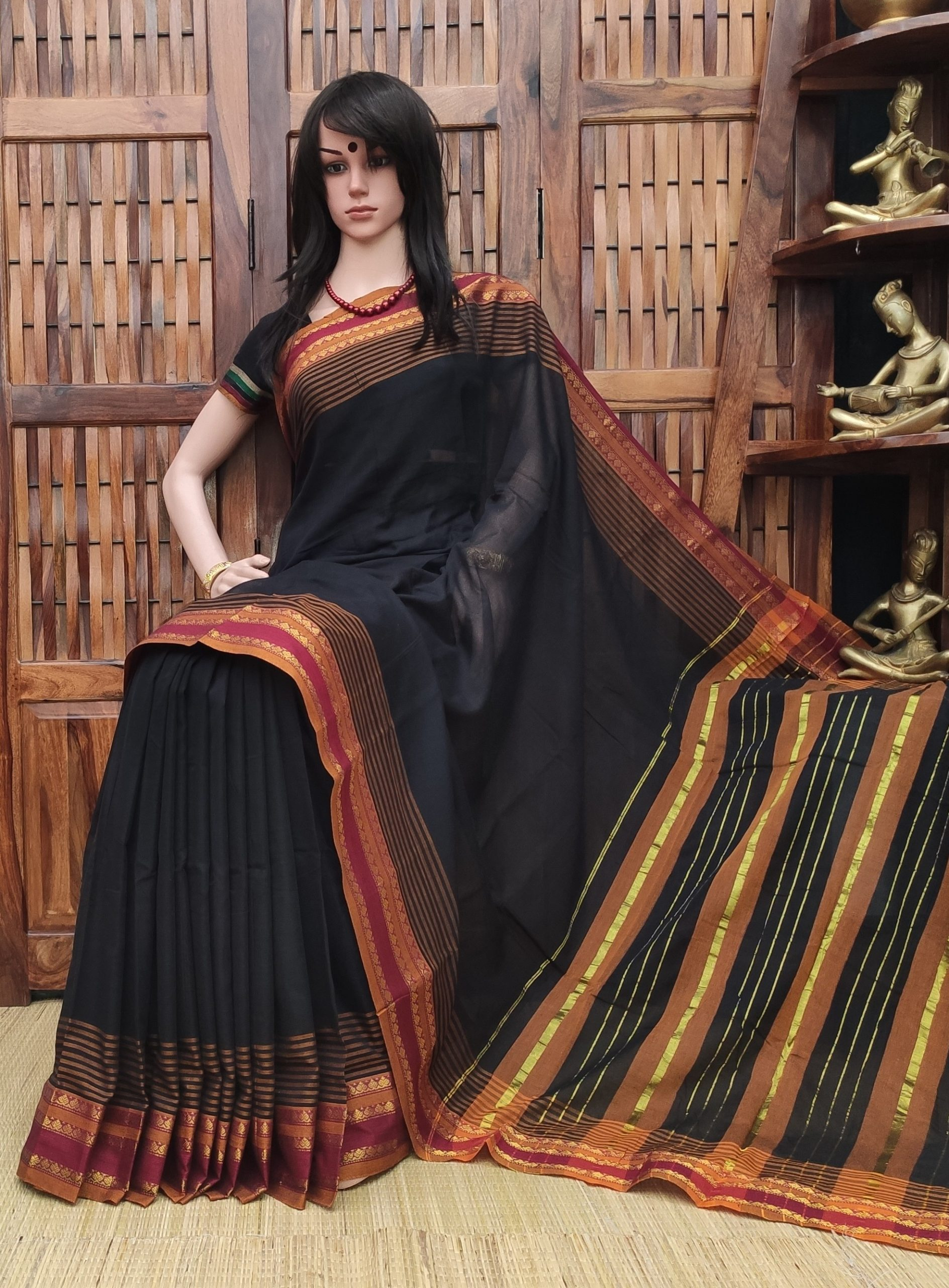 Keosha - Pearl Cotton Saree