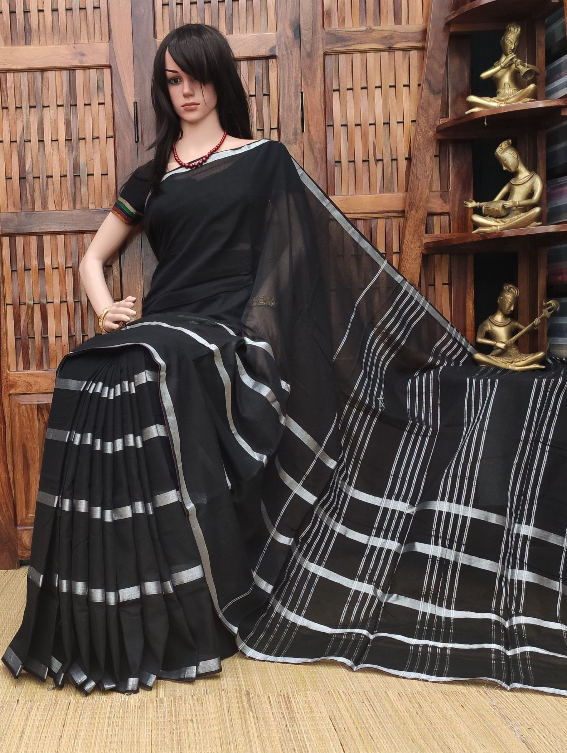 Kesari - Pearl Cotton Saree