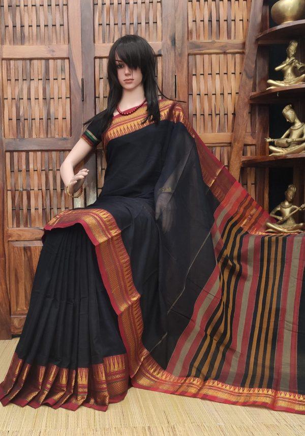 Khasha - Pearl Cotton Saree