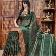 kinkini - Pearl Cotton Saree