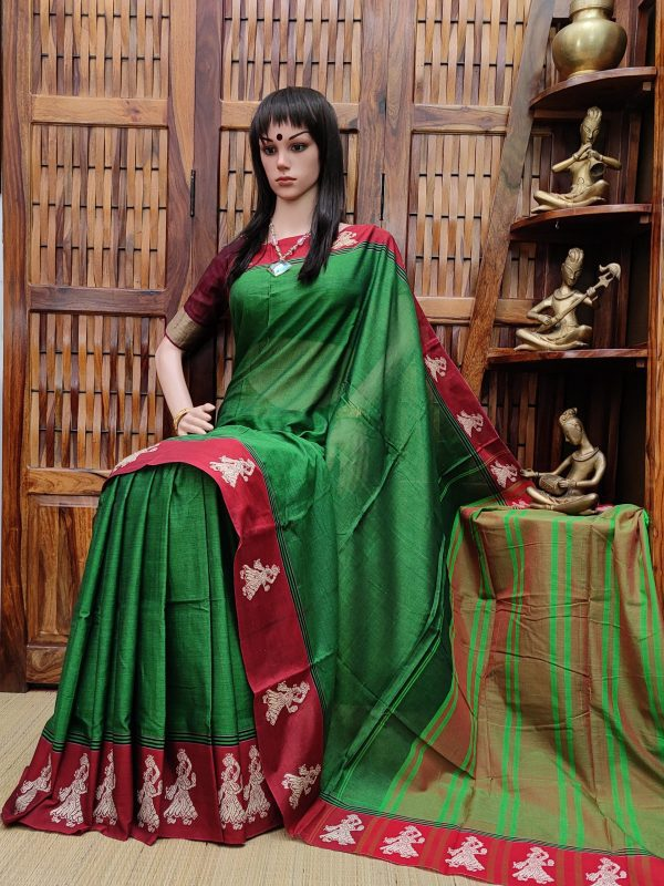Kiranmala - Pearl Cotton Saree