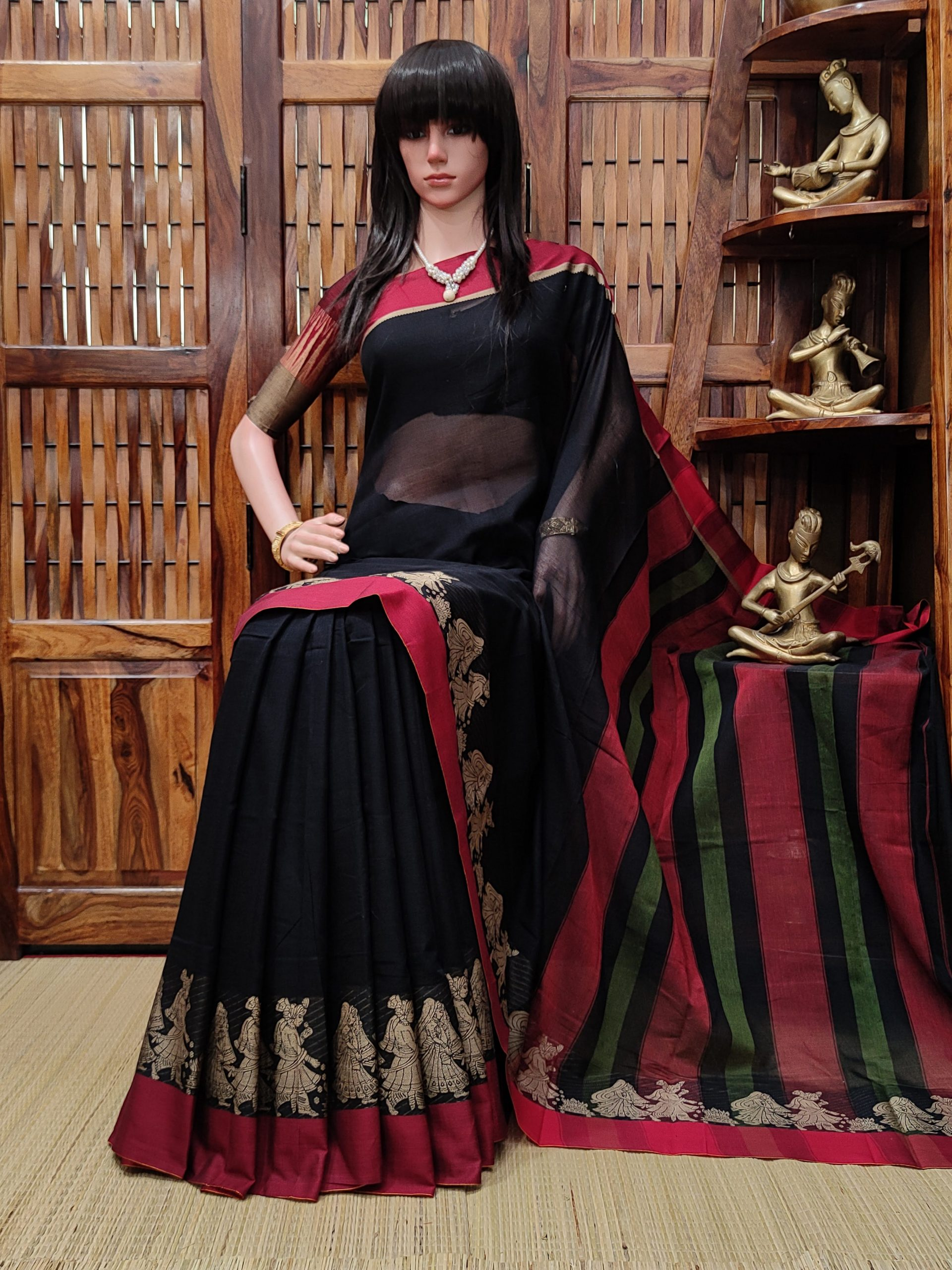 Kirthana - Pearl Cotton Saree