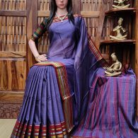 Kishanganga - Pearl Cotton Saree