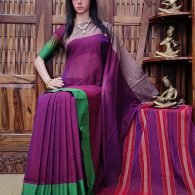 Kokilapriya - Pearl Cotton Saree