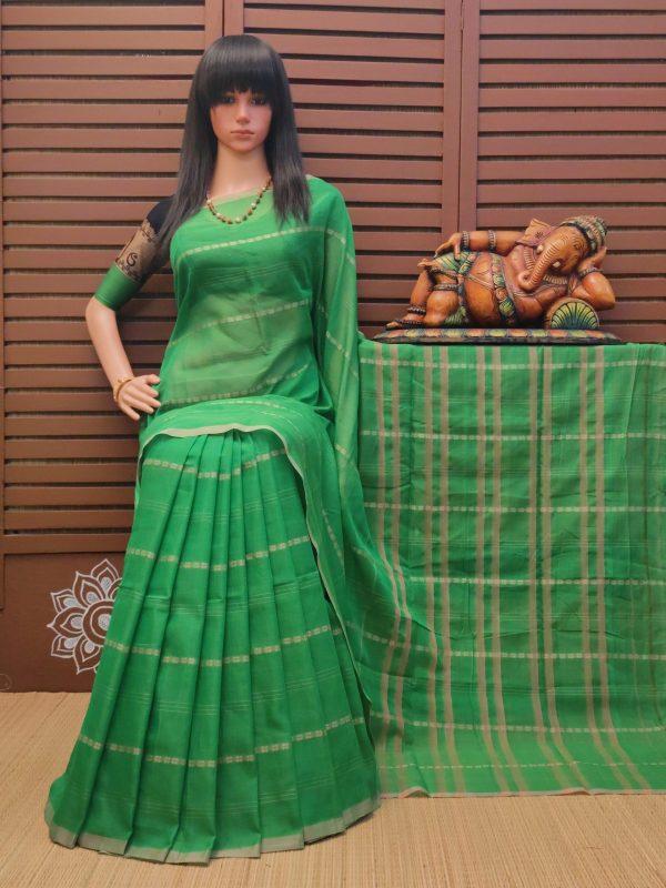 Kottari - Pearl Cotton Saree