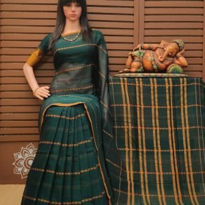 Kowmari - Pearl Cotton Saree