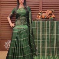 Krishnaveni - Pearl Cotton Saree