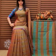 Krithiga - Pearl Cotton Saree