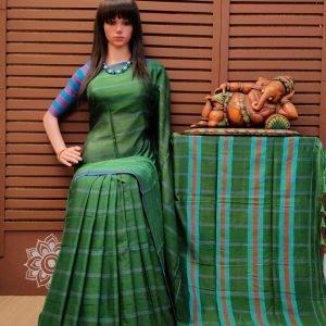 Krupali - Pearl Cotton Saree