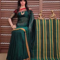 Kruthika - Pearl Cotton Saree