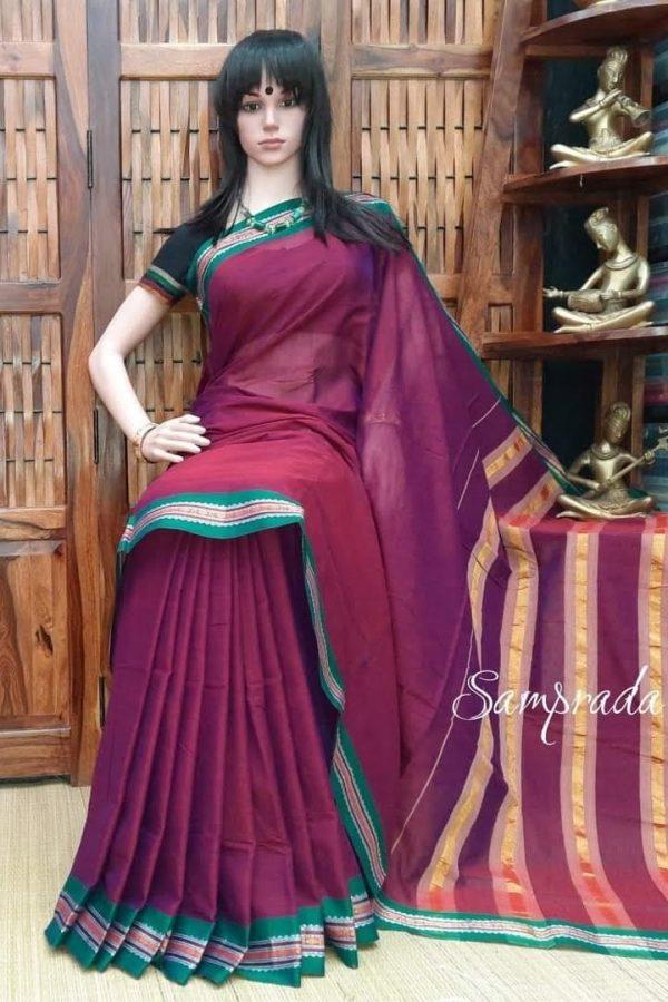 Kshona - Pearl Cotton Saree