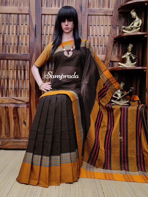 Kushala - Pearl Cotton Saree