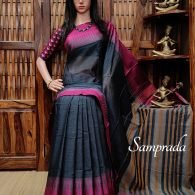 Kusumitha - Pearl Cotton Saree