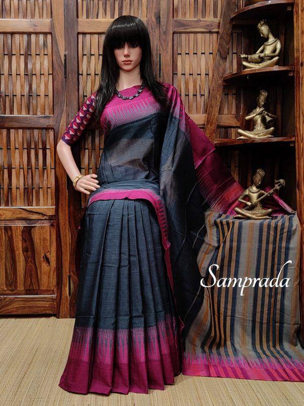 Kusumitha - Pearl Cotton Saree