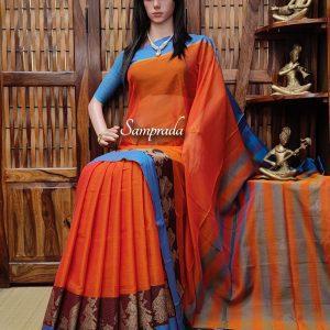 Lajitha - Pearl Cotton Saree