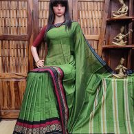 LOKESHWARI – PEARL COTTON SAREE