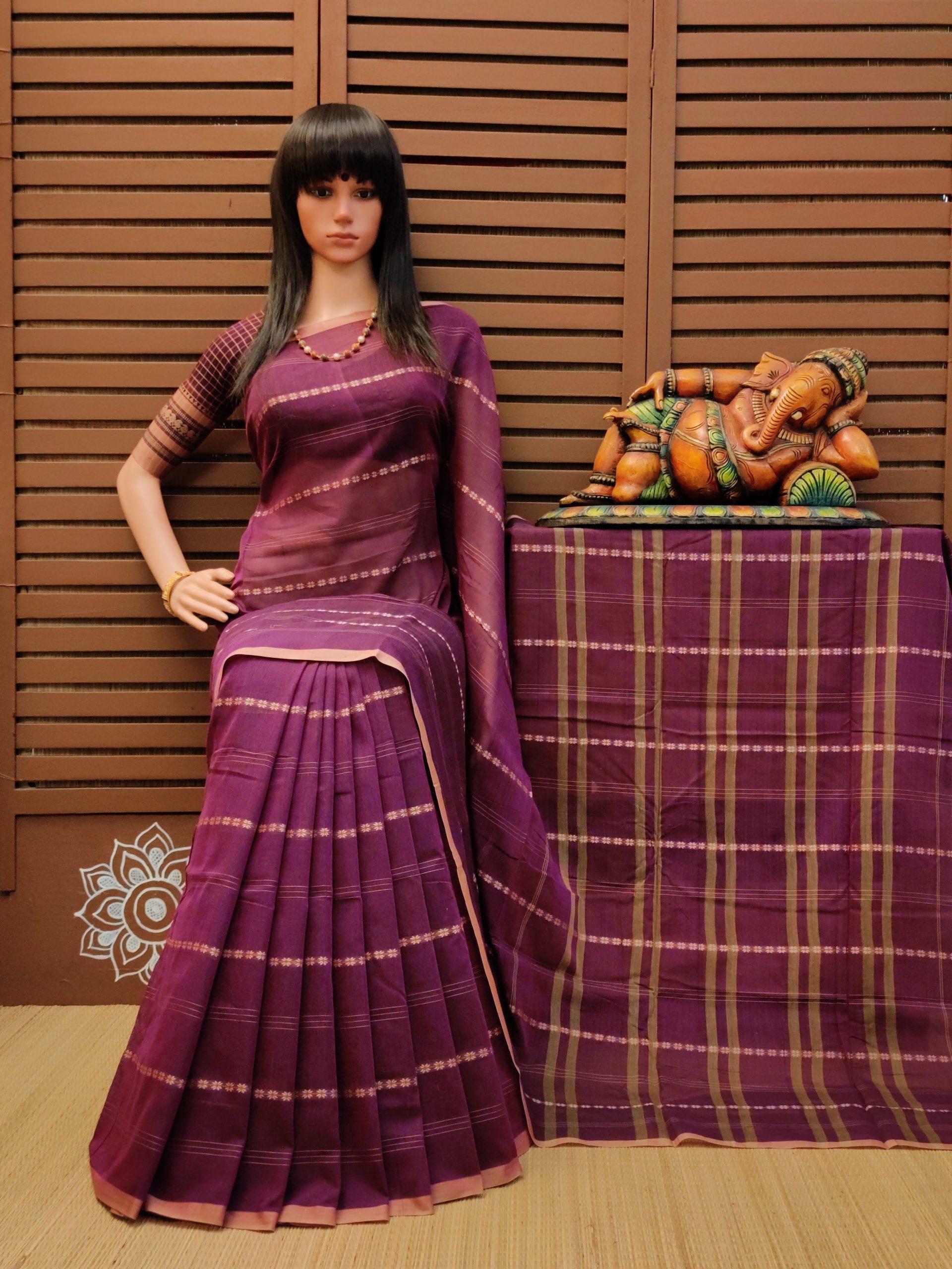 Ruhaani - Pearl Cotton Saree