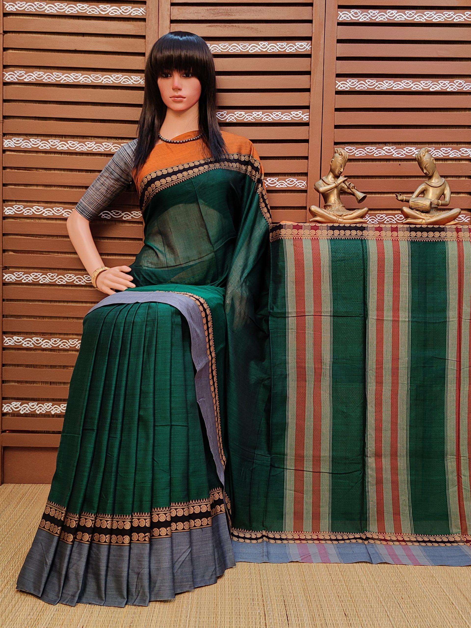 Tanavi - Pearl Cotton Saree