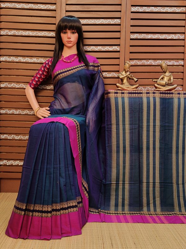 Tanmayi - Pearl Cotton Saree